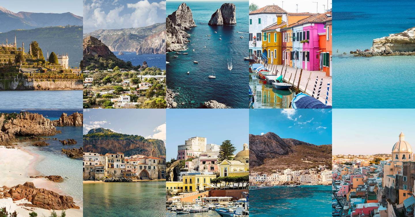 The 15 prettiest islands in Italy