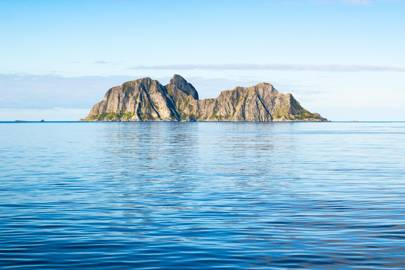Uninhabited Island, Lofoten, Norway