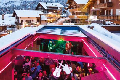 Nightlife in Verbier
