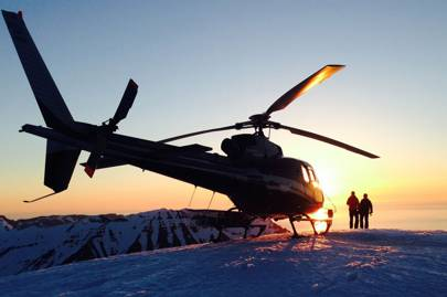 1. HELI-SKI IN KAMCHATKA
