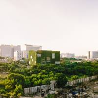 Hyderabad's hidden green office