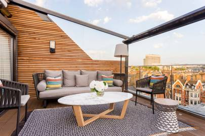 Rooftop suites at The Marylebone