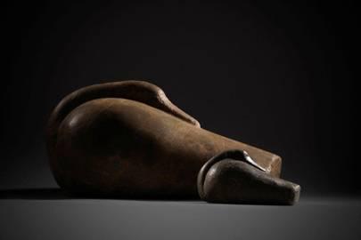 Mesopotamian stone ducks at Rupert Wace