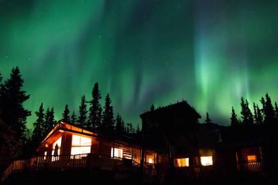 Tagish Wilderness Lodge, Yukon, Canada