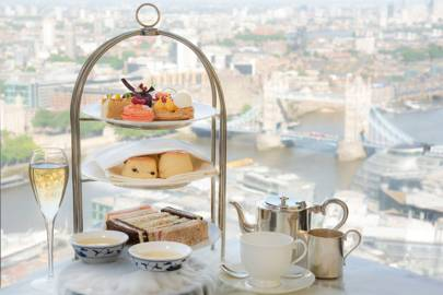 Afternoon tea at Shangri-La Hotel at The Shard