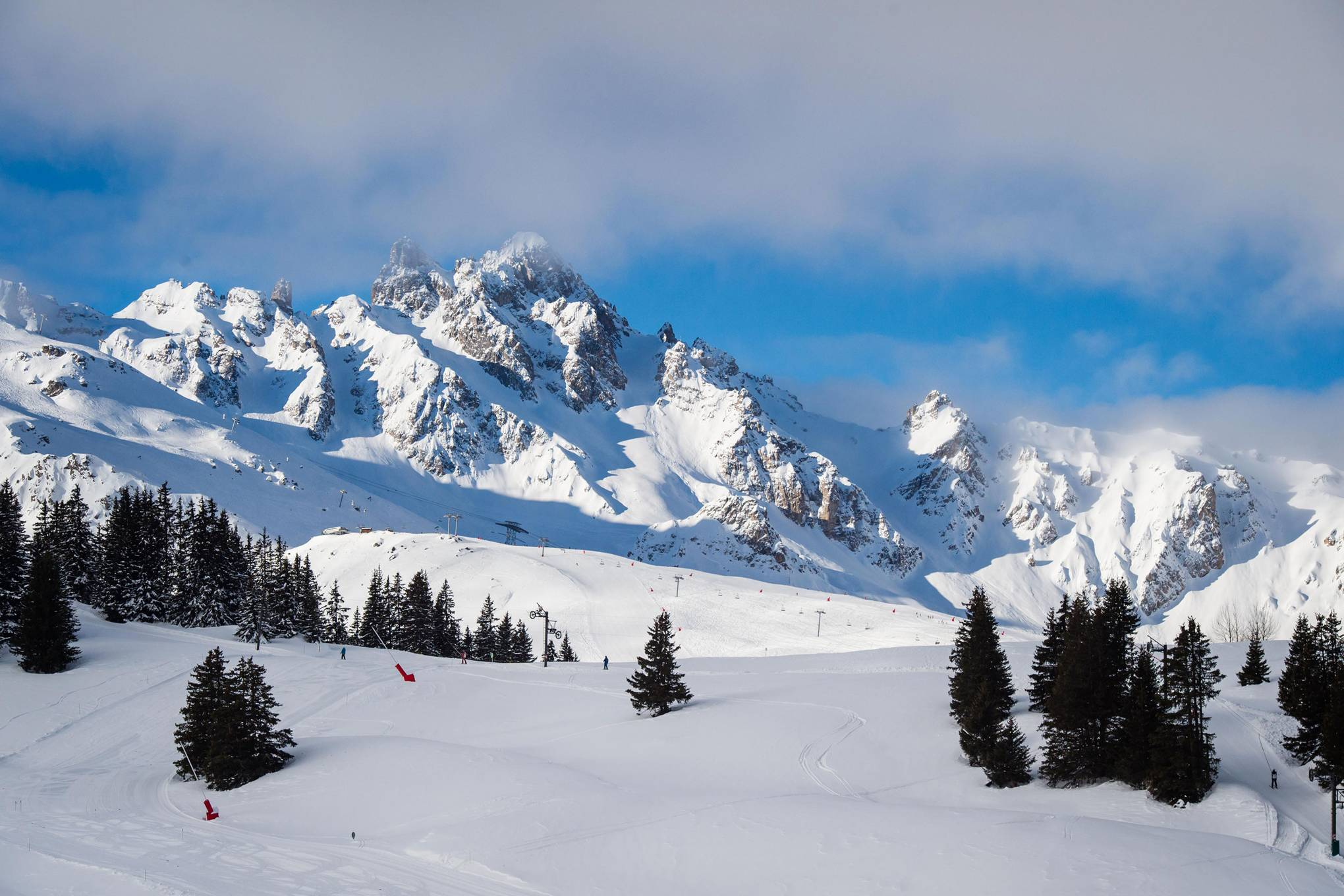 Win a wintry holiday to Courchevel