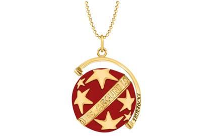 'Spinning Stars' pendant