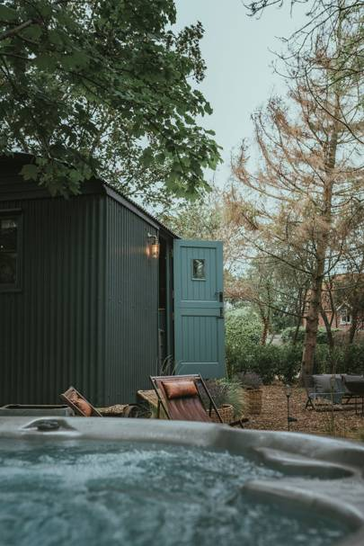 Shepherd's hut, the New Forest