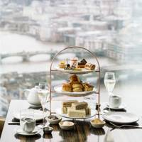 Afternoon tea at Oblix West, The Shard