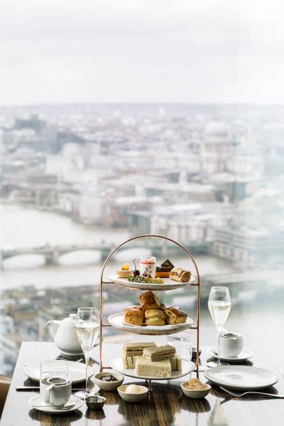 London Afternoon Tea at Oblix West, The Shard