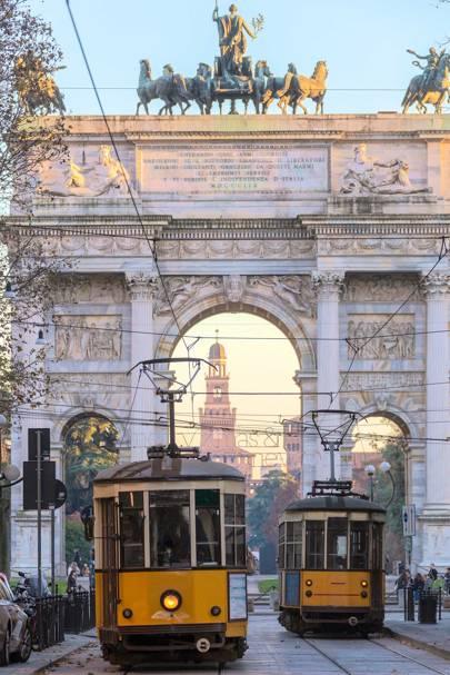 Milan's trams