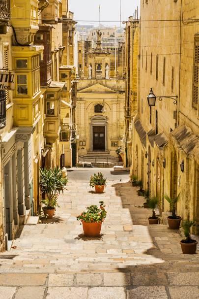13. Valletta, Malta. Score 91.47