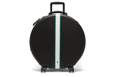 The circular suitcase