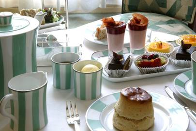 Afternoon tea at Claridge's, London