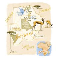 Getting to Botswana