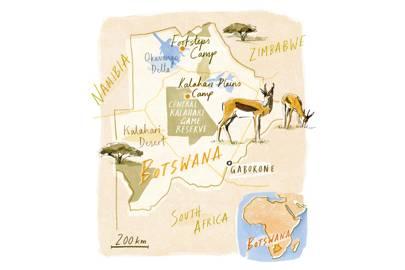 Getting to Botswana