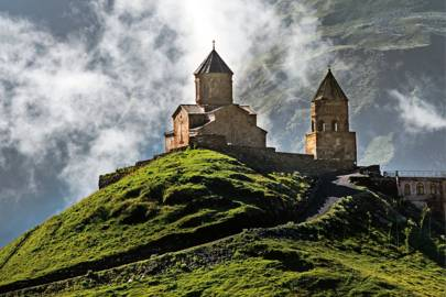The highlands of Kazbegi, Georgia
