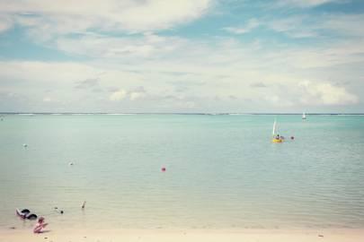 Muri Beach, on Rarotonga