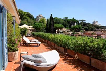 11. Hotel de Russie, Rome, Italy