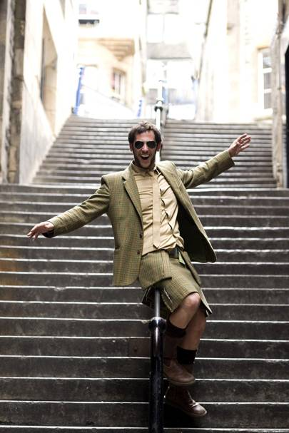 Get yourself a bespoke hipster kilt