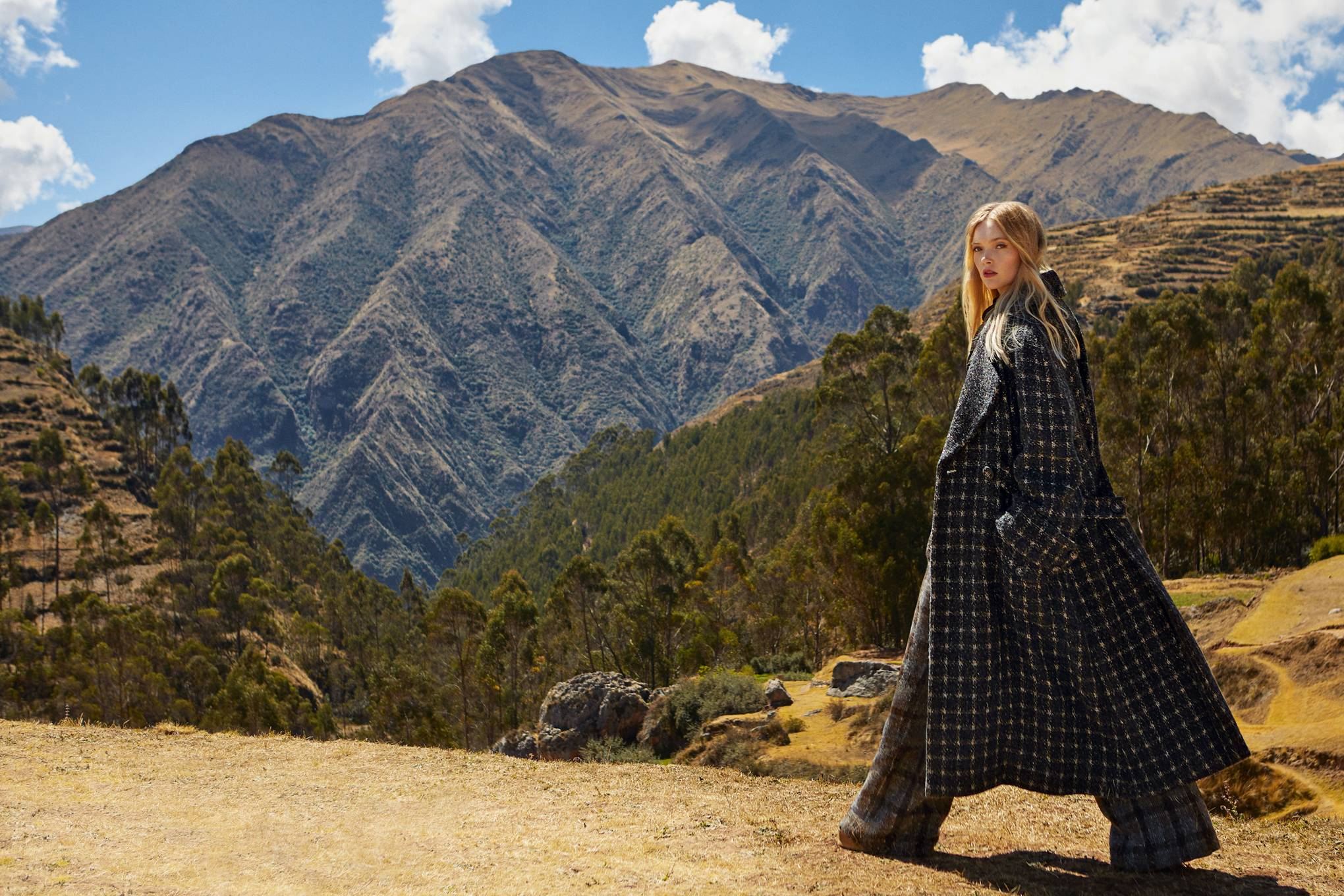 Fashion in the Peruvian Andes