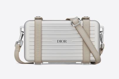 Dior x Rimowa suitcase clutch bag