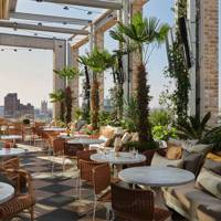 2. Head to a rooftop bar