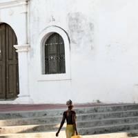 Exploring Stone Town, Mozambique