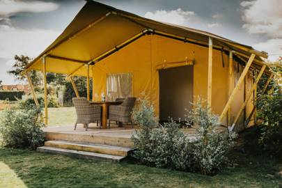 4.  GO CAMPING – OR GLAMPING