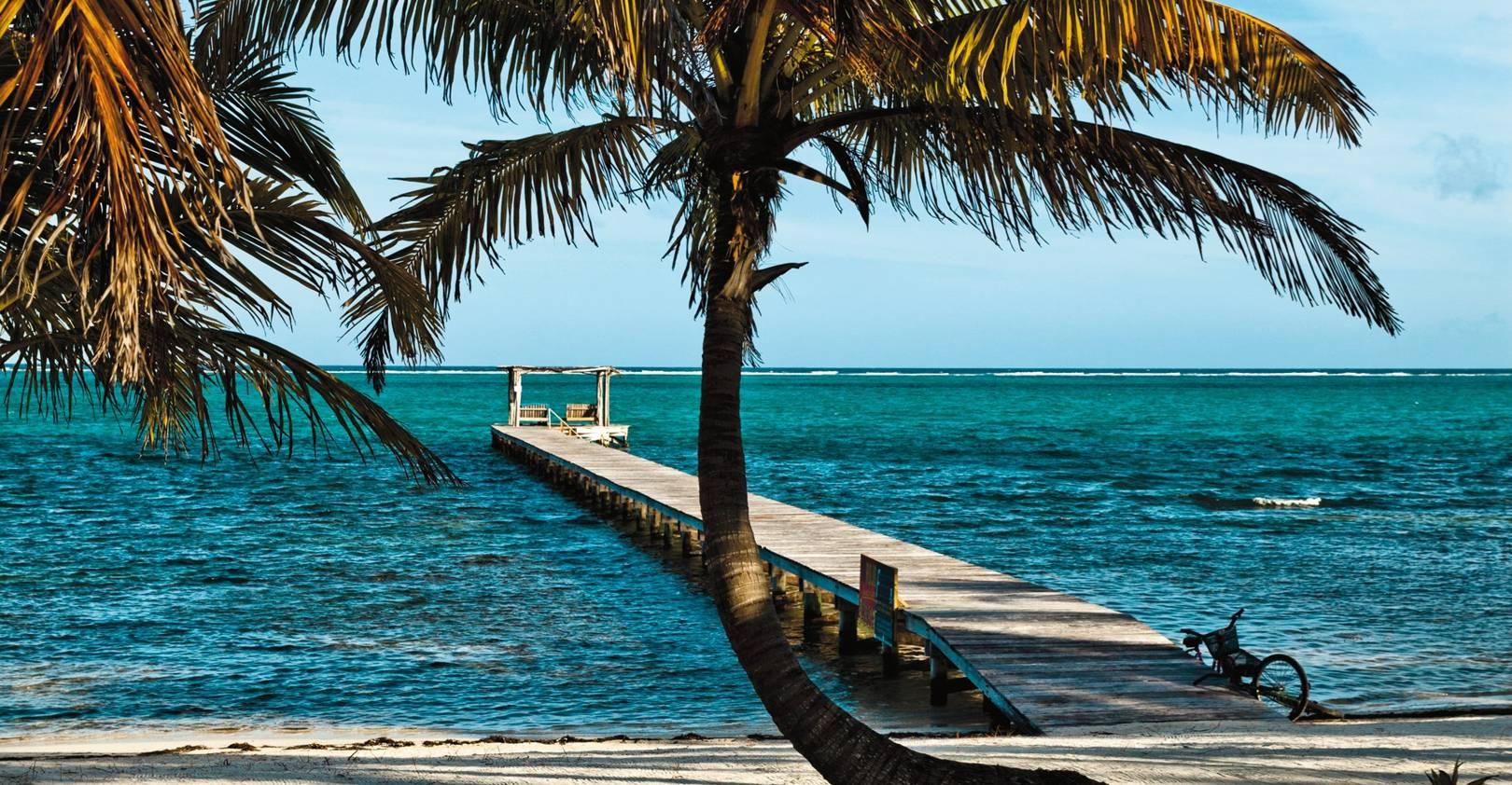 Beach-hopping in Belize
