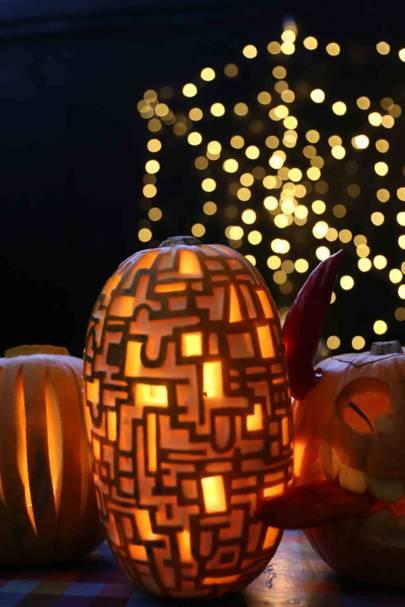 Dalston Eastern Curve Garden Pumpkin Lantern Festival