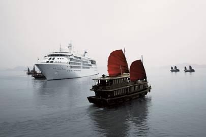 Best small ship cruise line: Silversea Cruises