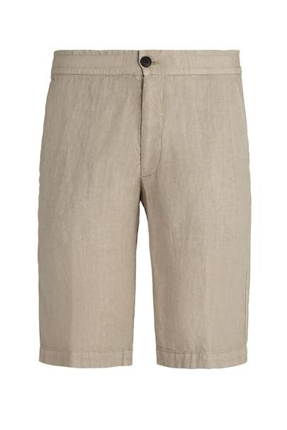 7. Z Zegna linen shorts