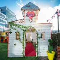 Royal Rooftop Wedding Party at the Queen of Hoxton
