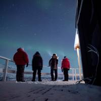 Getting dressed in Greenland