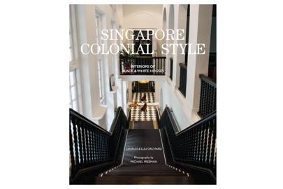 72b16002 'Singapore Colonial Style' coffee table book. '