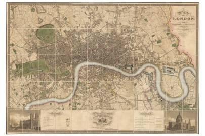 Vintage Maps Of London Cn Traveller