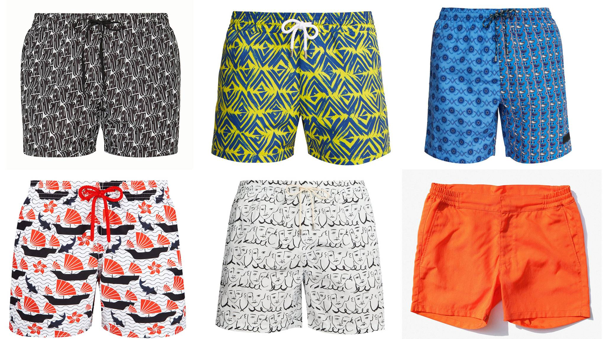 The best swimming trunks for summer 2019