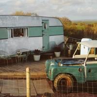 Campervan, north Devon