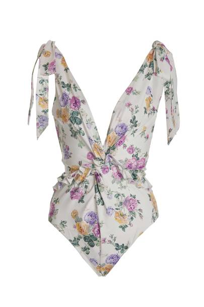 The romantic swimwear design