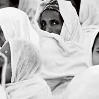 At church in Ethiopia