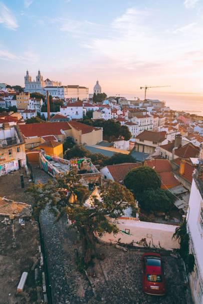 1. The view from Palácio Belmonte
