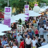 WAMP design market, Budapest