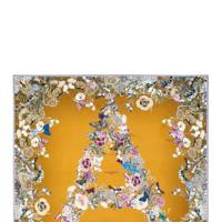 Aspinal of London silk scarf
