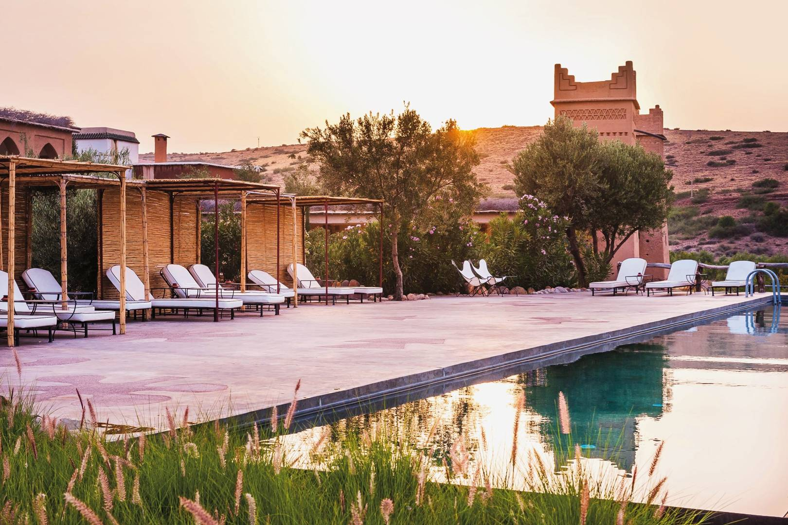 Hybrid Architecture for Private Residence — Marrakesh