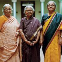 Meenakshi and sisters in law