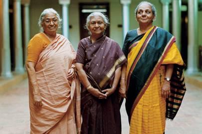 Meenakshi and sisters in law