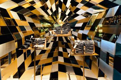 The Gucci shop, Milan