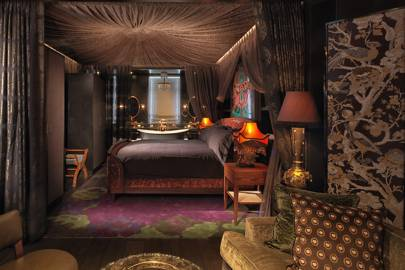 The Mandrake's Bedouin suite, Fitzrovia