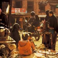 Bhaktapur market